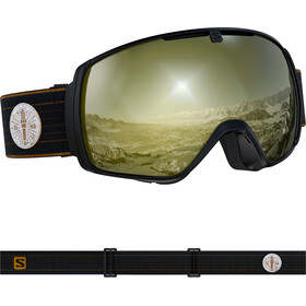 Salomon XT One Sigma Goggles café racer/black gold